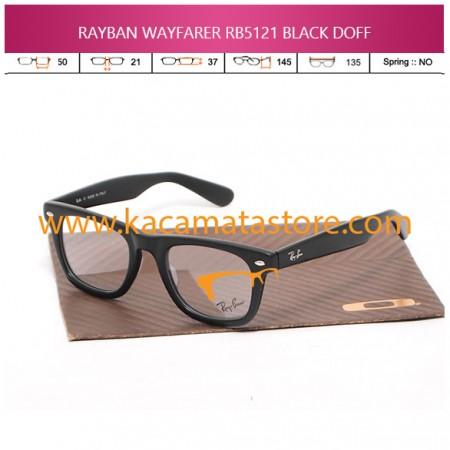 JUAL KACAMATA BACA RAYBAN WAYFARER RB5121 BLACK DOFF