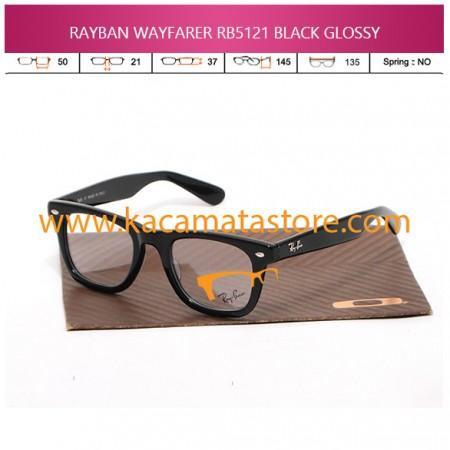 JUAL KACAMATA BACA RAYBAN WAYFARER RB5121 BLACK GLOSSY