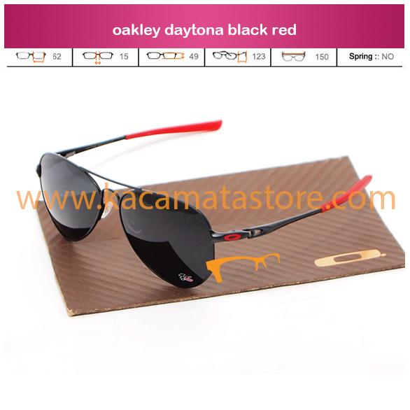 jual kacamata online model terbaru dan termurah oakley daytona black red