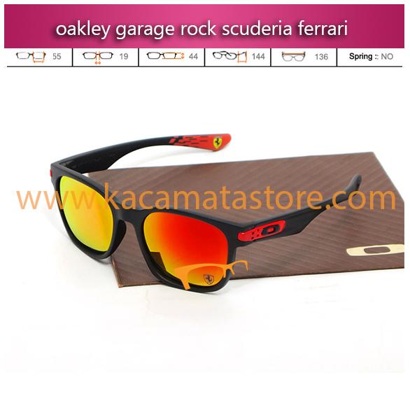 jual kacamata sport kacamata oakley garage rock scuderia ferrari