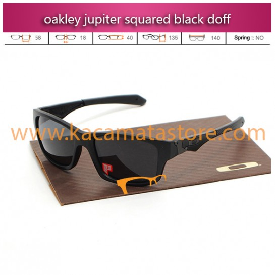 jual kacamata oakley jupiter squared black doff