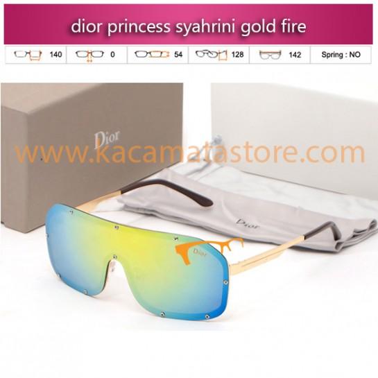 harga kacamata syahrini murah dior princess syahrini gold fire
