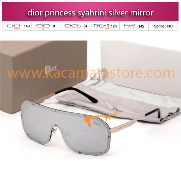 kacamata syahrini terbaru dior princess syahrini silver mirror
