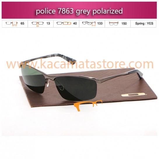 jual kacamata police online 7863 grey polarized