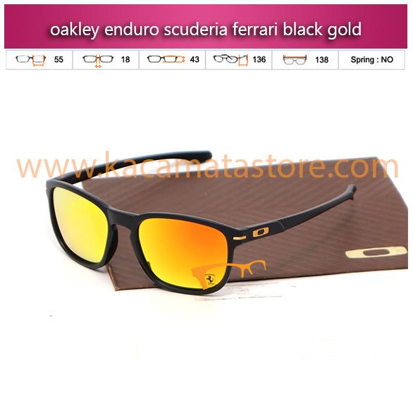 harga kacamata oakley terbaru enduro scuderia ferrari black gold
