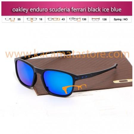 kacamata oakley kw enduro scuderia ferrari black ice blue
