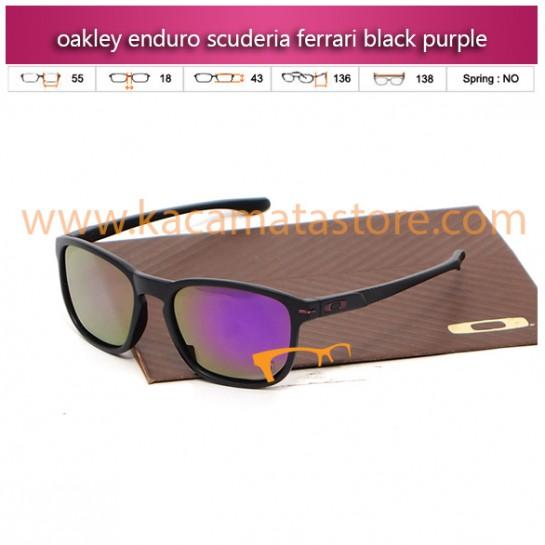 jual kacamata oakley termurah enduro scuderia ferrari black purple