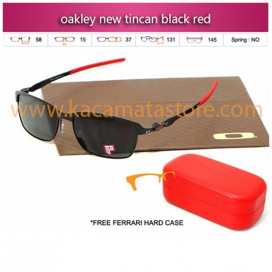 jual kacamata oakley murah new tincan black red