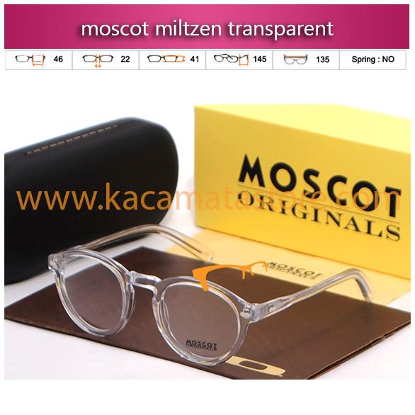 jual kacamata moscot miltzen transparent