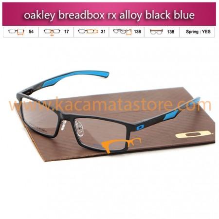 jual kacamata online terbaru oakley breadbox rx alloy black blue