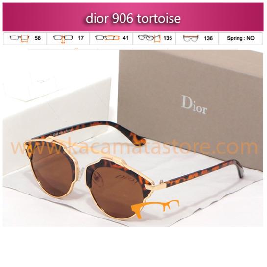 model kacamata wanita terbaru dior 906 tortoise