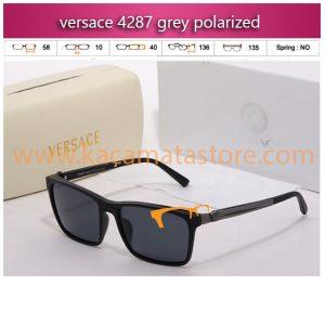 kacamata gaya versace 4287 grey polarized jual kacamata online harga model bingkai frame minus oakley pria wanita branded kw murah terbaru