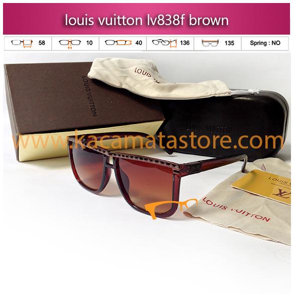 kacamata wanita louis vuitton lv838f brown toko kacamata online harga model frame minus branded kacamata oakley rayban kw murah terbaru 2015