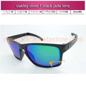 oakley sliver f black jade lens model kacamata oakley terbaru