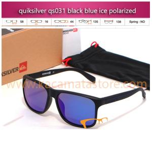 jual kacamata murah terbaru quiksilver qs031 black blue ice polarized