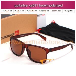 jual kacamata murah quiksilver qs031 brown polarized