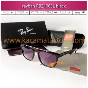 jual kacamata rayban rb21083l black toko jual kacamata online harga model bingkai frame minus oakley pria wanita branded kw murah terbaru