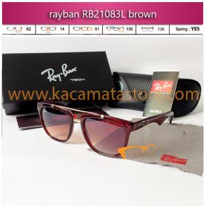 toko jual kacamata online harga model bingkai frame minus oakley pria wanita branded kw murah terbaru jual kacamata rayban rb21083l brown