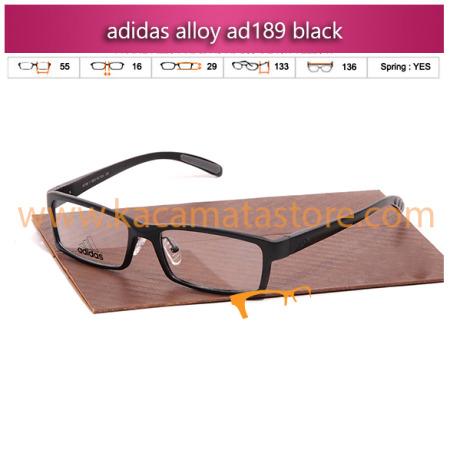 jual frame kacamata minus adidas alloy ad189 black toko kacamata online harga kacamata pria wanita branded kacamata kw murah terbaru 2015