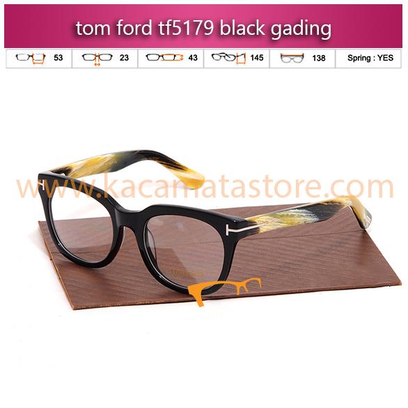 jual frame kacamata minus tom ford tf5179 black gading toko kacamata online harga kacamata oakley kacamata rayban pria wanita branded kacamata kw murah terbaru 2015