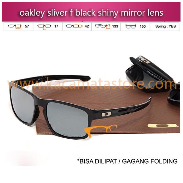 jual kacamata oakley sliver f black shiny mirror lens kacamata online harga kacamata oakley pria wanita branded kacamata kw murah terbaru 2015