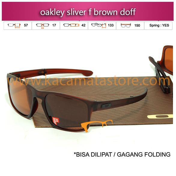 jual kacamata oakley sliver f brown doff jual kacamata online harga kacamata oakley pria wanita branded kacamata kw murah terbaru 2015