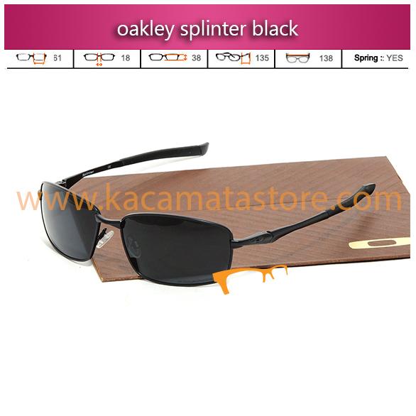 jual kacamata oakley splinter black toko kacamata online harga model frame minus pria wanita branded kacamata rayban kw murah terbaru 2015