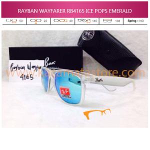 harga kacamata rayban wayfarer terbaru ice pops emerald