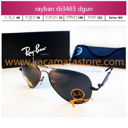 harga kacamata rayban terbaru pria wanita aviator rb3465 dgun