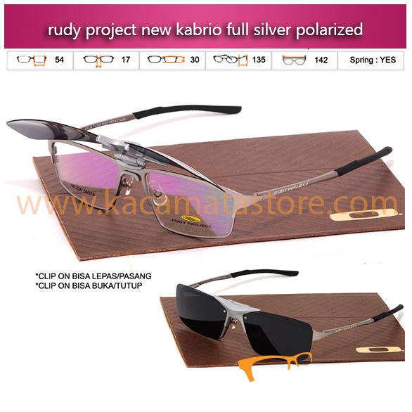 Harga Kacamata Rudy Project Clip On Kabrio Full Silver kacamata minus terbaru
