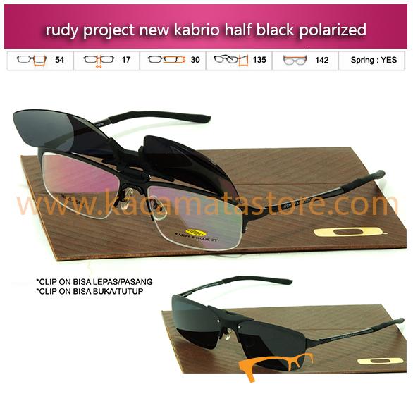 Jual Kacamata Baca Terbaru Kacamata Rudy Project Kabrio Clip On Half Black