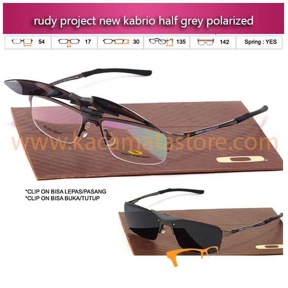 Jual Kacamata Rudy Project Clip On Kabrio Half grey kacamata baca terbaru