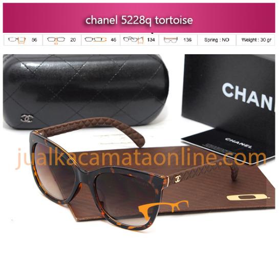 trend model kacamata chanel terbaru seri 5228 tortoise