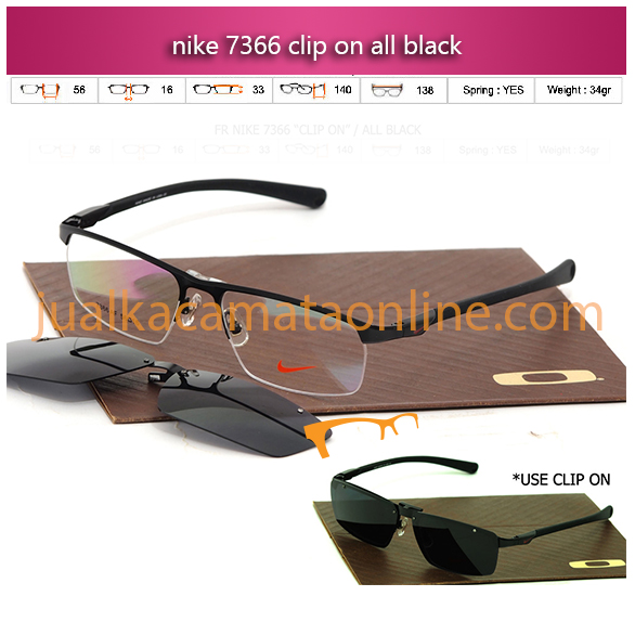 Jual Kacamata Baca Terbaru Nike 7366 Terbaru warna black