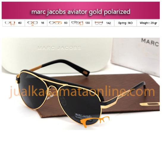 Harga Kacamata Marc Jacobs Aviator Grey Polarized Terbaru Murah