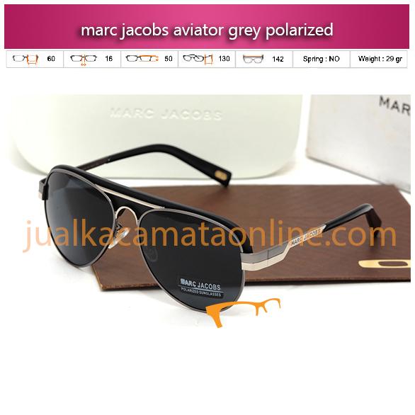 Model Terbaru Kacamata Marc Jacobs Aviator Grey Polarized