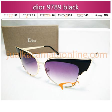 jual kacamata wanita dior 9789 black