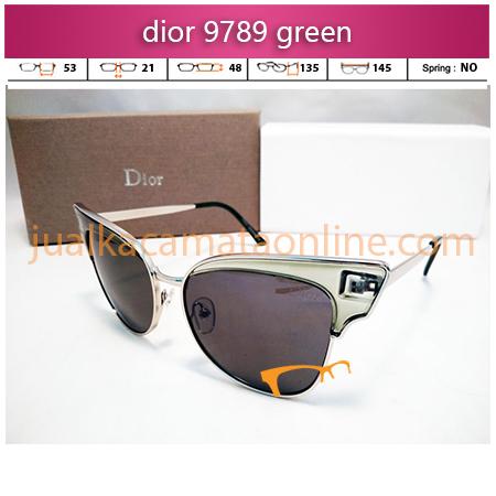 sunglasses kacamata wanita dior 9789 green