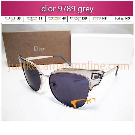 kacamata wanita dior 9789 grey
