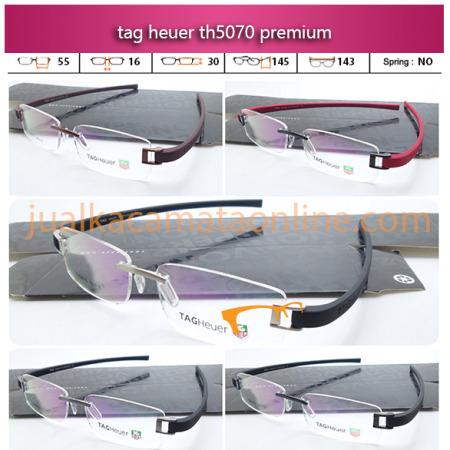 Frame Kacamata Tag Heuer 5070 Rimless