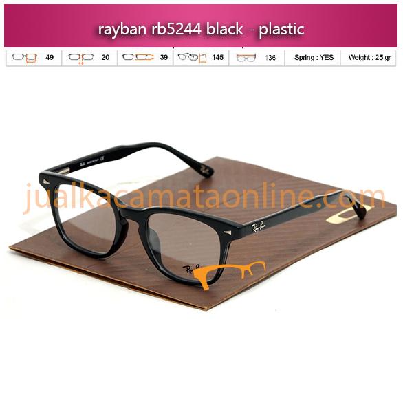 Jual Frame Kacamata Rayban RB5244 Black