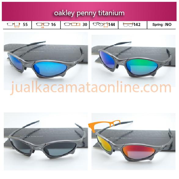 harga kacamata oakley terbaru penny titanium