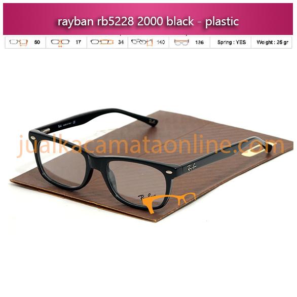 Jual Frame Kacamata Rayban RB5228