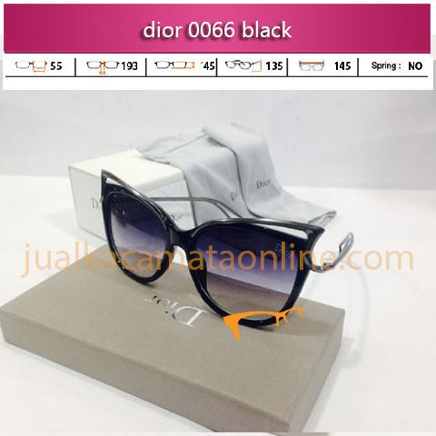 kacamata dior 0066 black