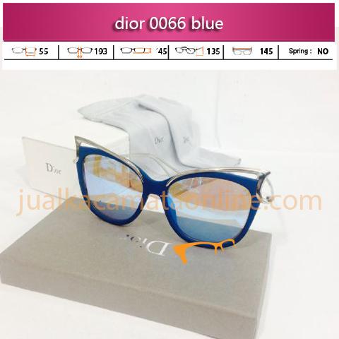 jual kacamata dior 0066 blue