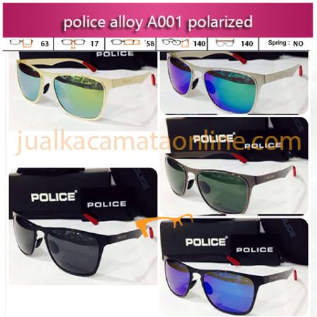 Jual Kacamata Police A001 Aluminium Polarized