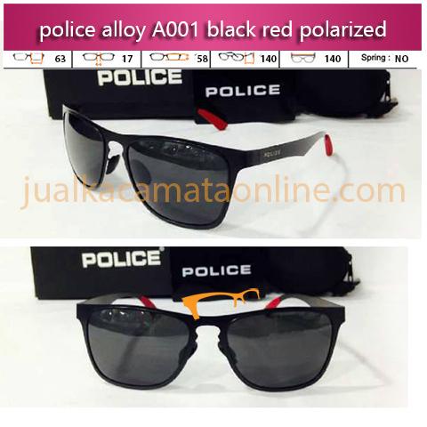 Kacamata Police A001 Black