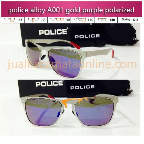 Kacamata Police A001 Purple