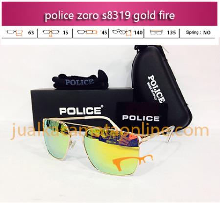harga kacamata police zoro 8319 gold fire