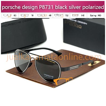Kacamata Porsche Design P8731 black silver